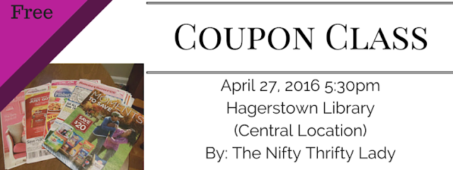 Coupon Class for Hagerstown Maryland