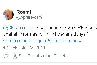Sscntraining.bkn.go.id Apakah Resmi Milik BKN ? Pendaftaran CPNS 2018