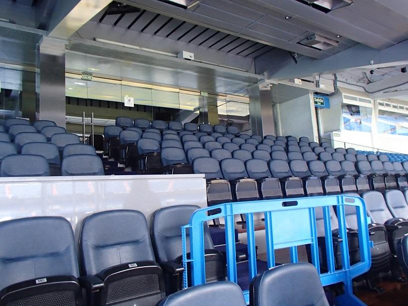 Trybuna VIP na stadionie Realu Madryt - fot. Tomasz Janus / sportnaukowo.pl