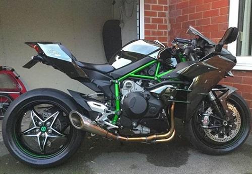 Motor terbaik 2018 Kawasaki Ninja H2 R