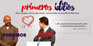el idilio de Podemos y PSOE