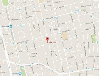 Rendebú cafe Barrio Italia mapa ubicacion