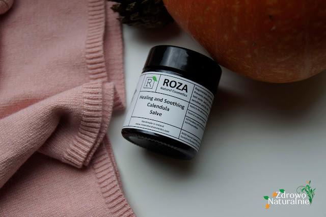 ROZA Natural cosmetics - Lecznicza i kojąca maść nagietkowa