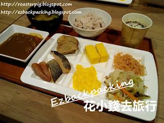 超级酒店Lohas博多站早餐