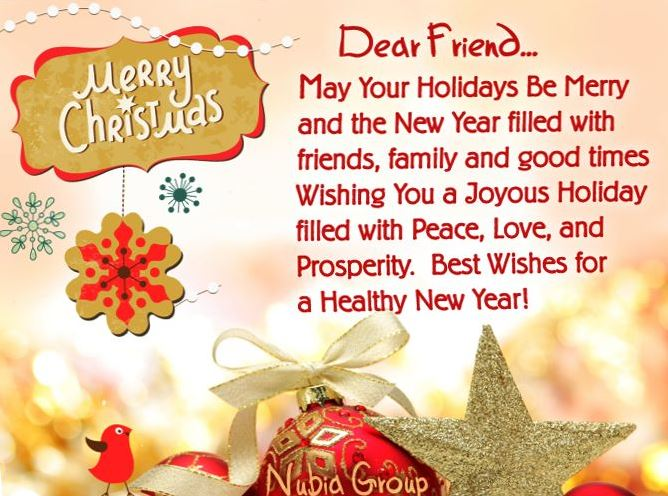 Best Christmas Quotes For Dear Friends