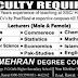 Mehran Degree College Rawalpindi Jobs