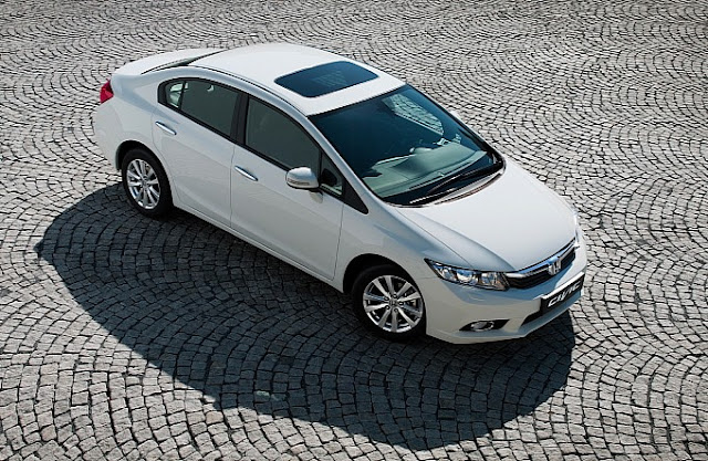 2013 Honda Civic Sedan White