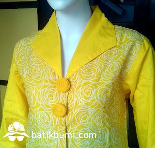 Batik Cap Kelengan Mawar
