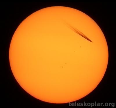 Güneş ve uçak gözlemi