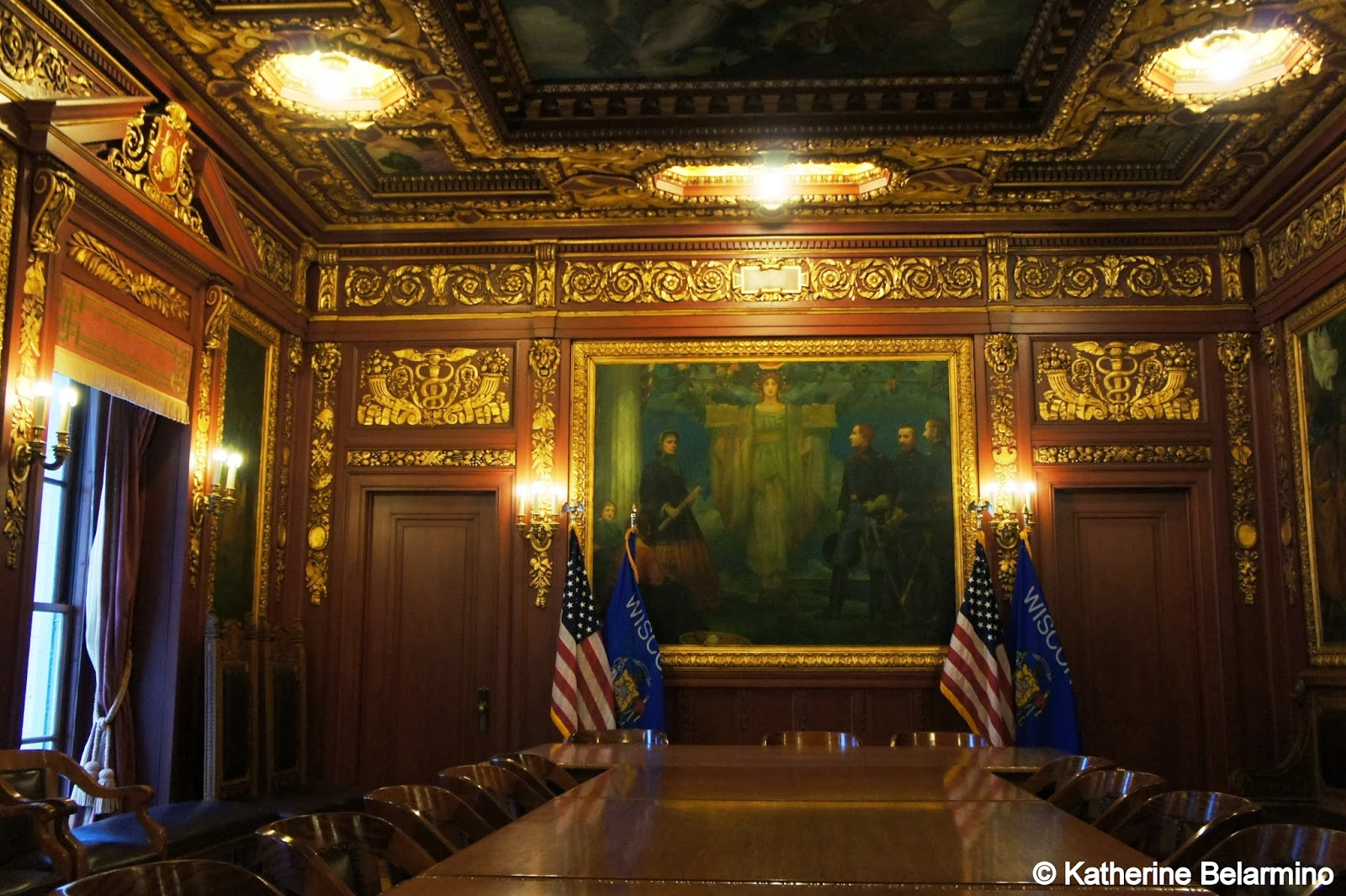 Governor's Conference Room Madison Capitol Building Wisconsin