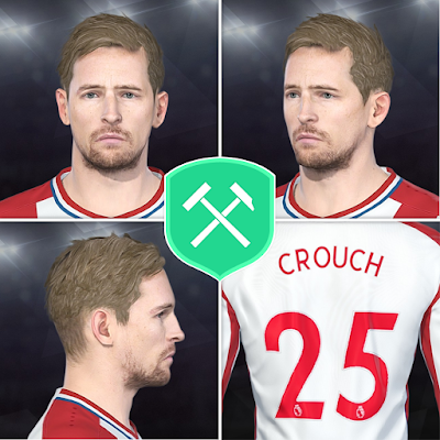 PES 2018 Faces Peter Crouch by Volun