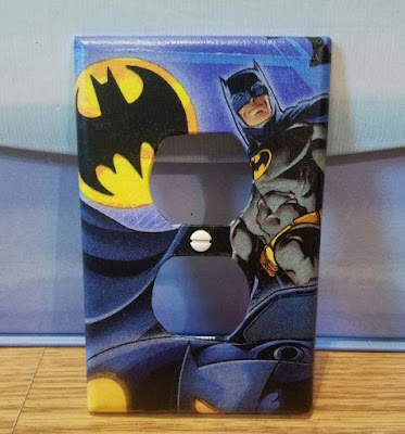 Batman Wall Plate Outlet Cover