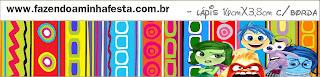 Etiquetas para Imprimir Gratis de Del Revés.