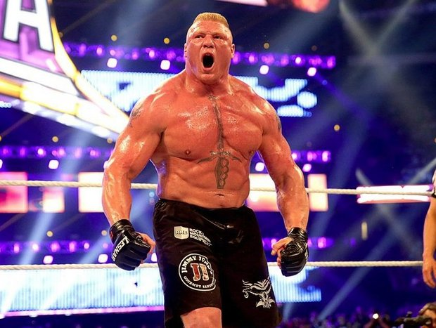 Brock Lesnar WWE Royal Rumble 2016 Live