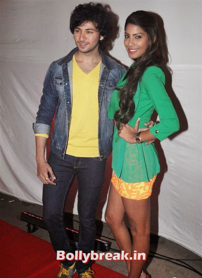 Dev Sharma and Nicole Faria, Nicole & Rukul - Yaariyan Success Bash Pics