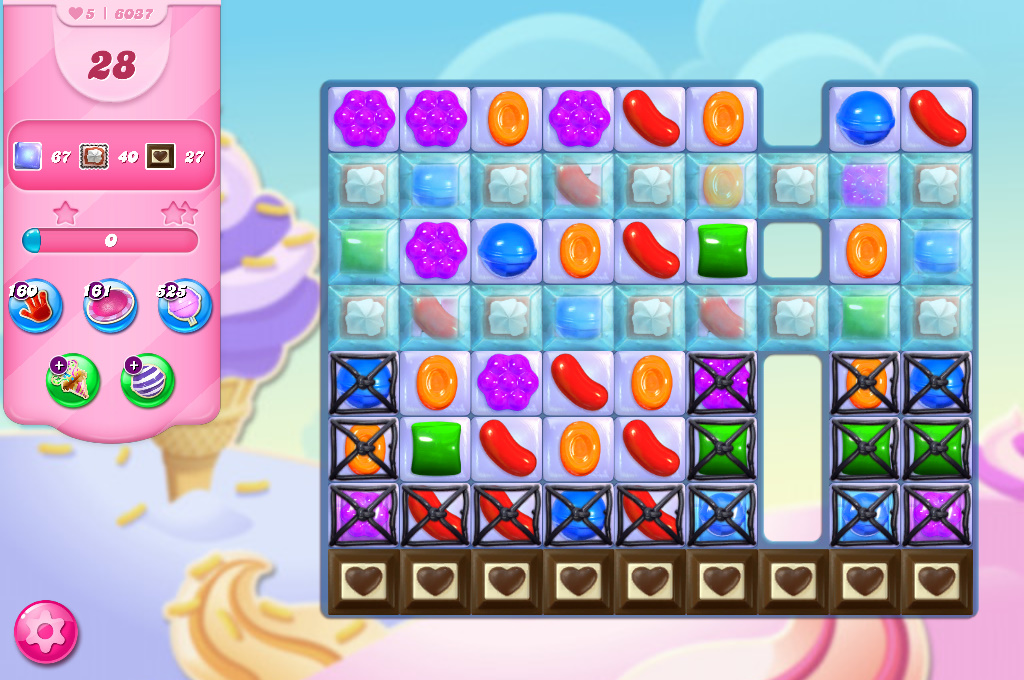 Candy Crush Saga level 6037