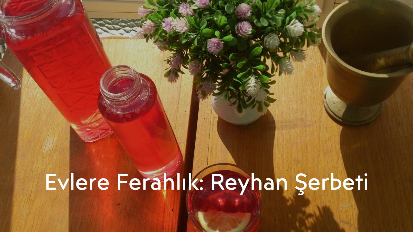 Reyhan Şerbeti- Traditional Drinks