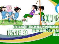 Rpp PJOK Kelas 5 SD Bab 9 Semester 2 Kurikulum 2013 Revisi 2017