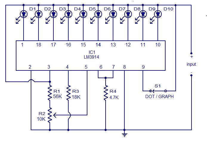 Lm 12v Battery Level Indicator Free Electronic