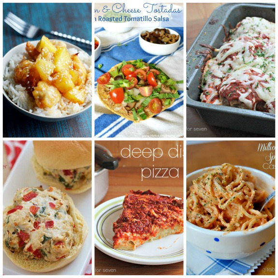 Weekly Meal Plan #32 from Tablef for Seven