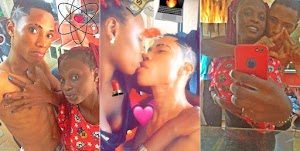 Viral Video Of Teenage Nigerian Couple kissing & romancing Each other
