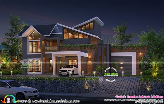 2922 sq-ft ultra modern style beautiful house