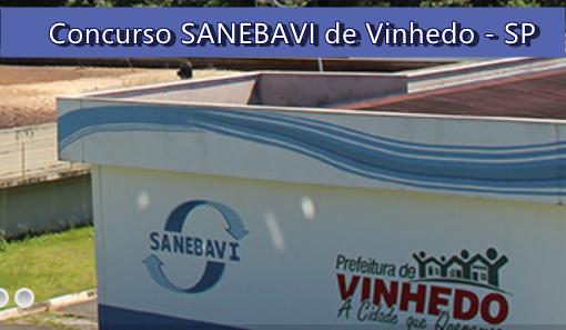Concurso SANEBAVI de Vinhedo - SP