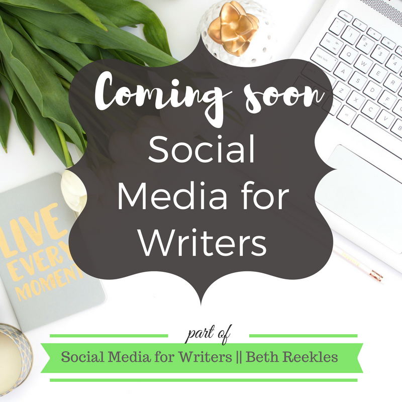 New blog series coming soon: all about how to use social media to support your writing profile!