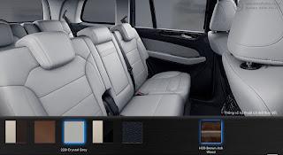 Nội thất Mercedes GLS 400 4MATIC 2015 màu Xám Crystal 228