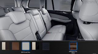 Nội thất Mercedes GLS 400 4MATIC 2017 màu Xám Crystal 228