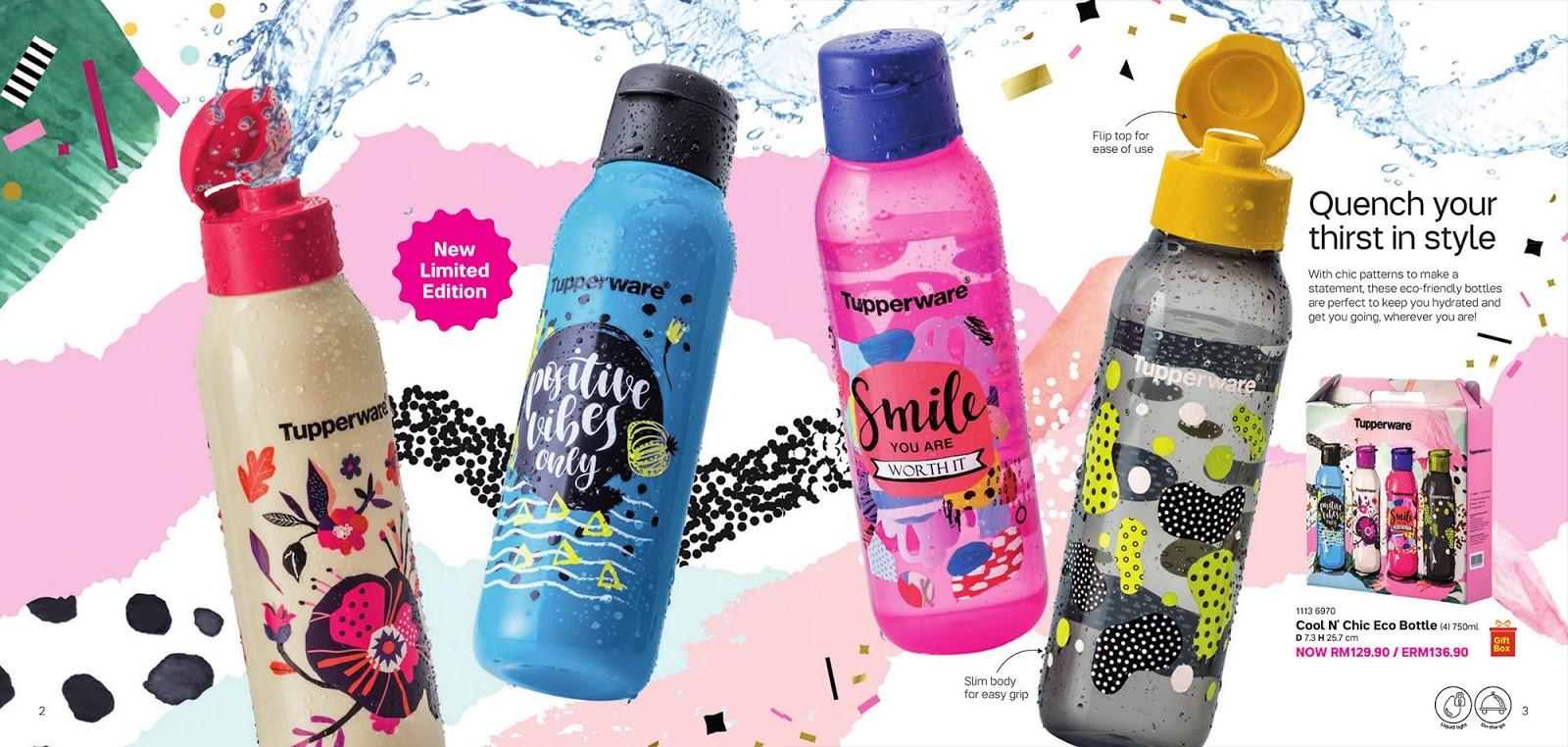Harga Jual Tupperware Botol Minum Eco Xtreme Cafe Mug Disc Man Hitam 750 Ml Cenjaya Tuppy Malaysia Catalogue 2018 Edisi 2