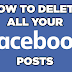 How To Delete All Post On Facebook | Delete All Post On Facebook