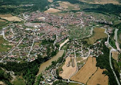 Vista aérea de Navarcles