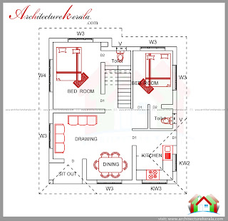 2 bedroom house estimate cost under 15 lakhs