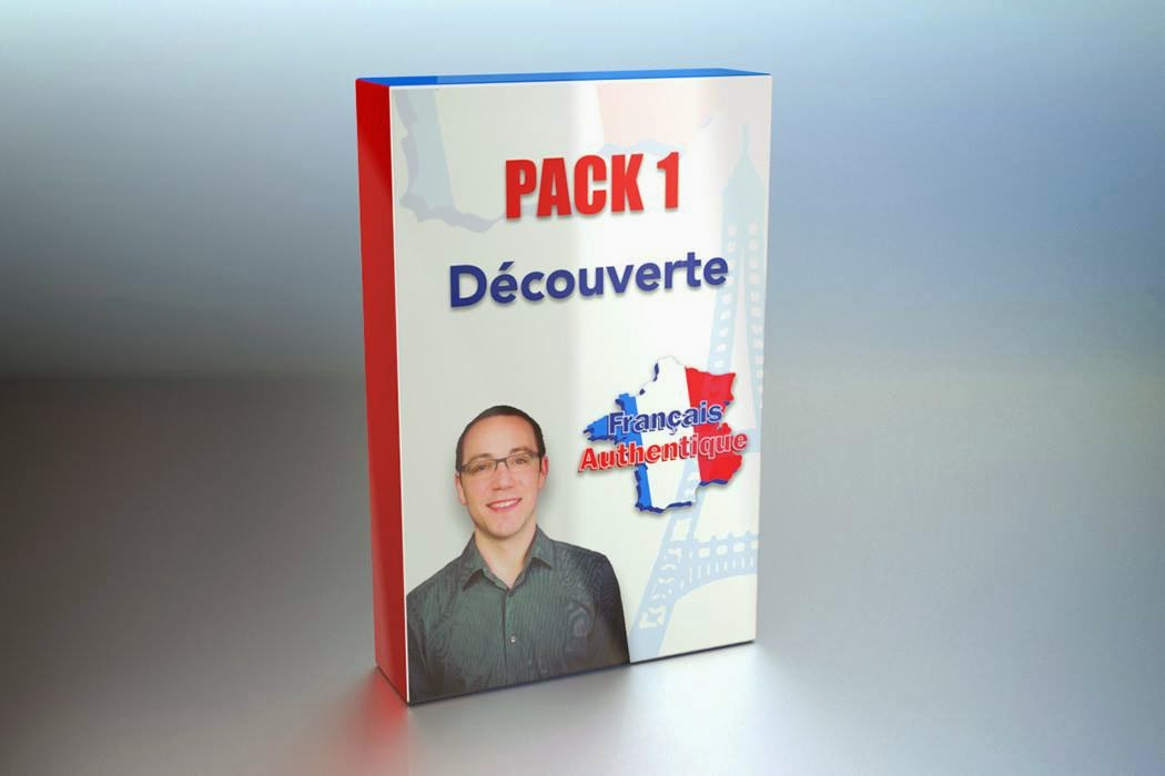 Pack 1 français authentique