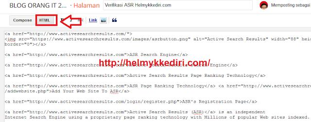 Mendapatkan backlink dari situs asr5