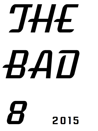2015 The Bad 8 logo