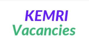 2019 vacancy KEMRI Kisumu