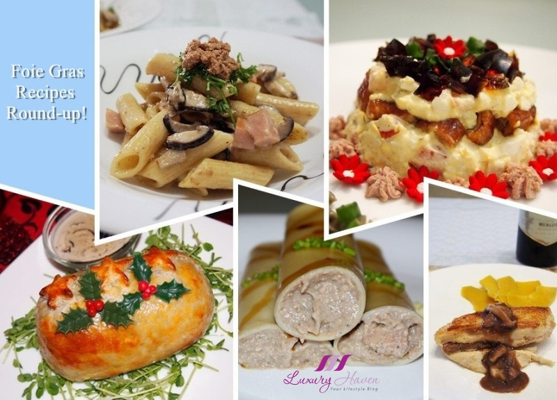 christmas goose liver foie gras recipes round up