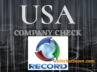 USA Company Check Record