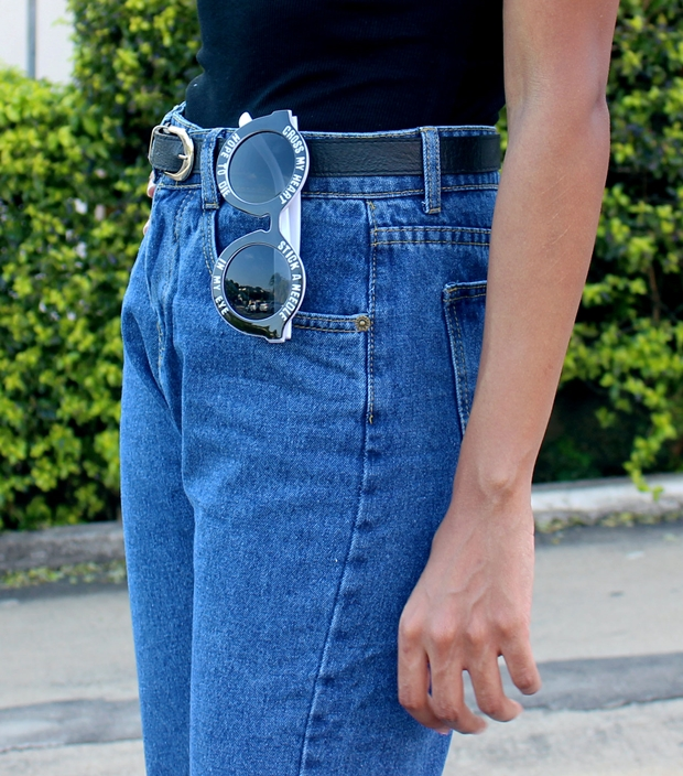 Como usar mom jeans - De volta ao retrô