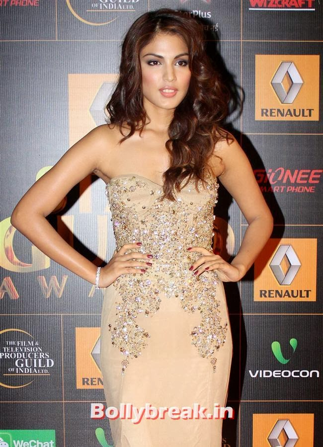 Rhea Chakraborty, Star Guild Awards 2014 Pics