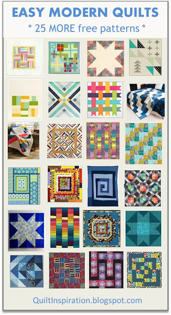 Quilt Inspiration: Free pattern day: Easy Modern Quilts (2) : modern day quilts - Adamdwight.com