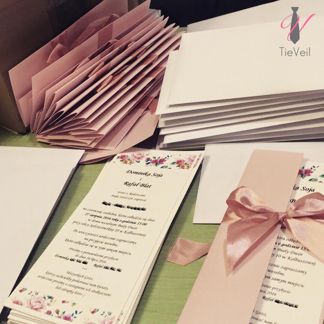 Misja Wesele Zaproszenia ślubne Tieveil Kompleksowa Organizacja