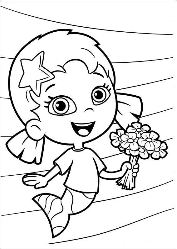 It's just an image of Genius Bubble Guppies Printable Coloring Pages