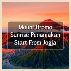 Bromo Sunrise Start From Jogja