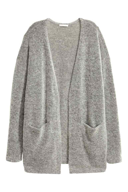 H&M Cardigan in mohair blend