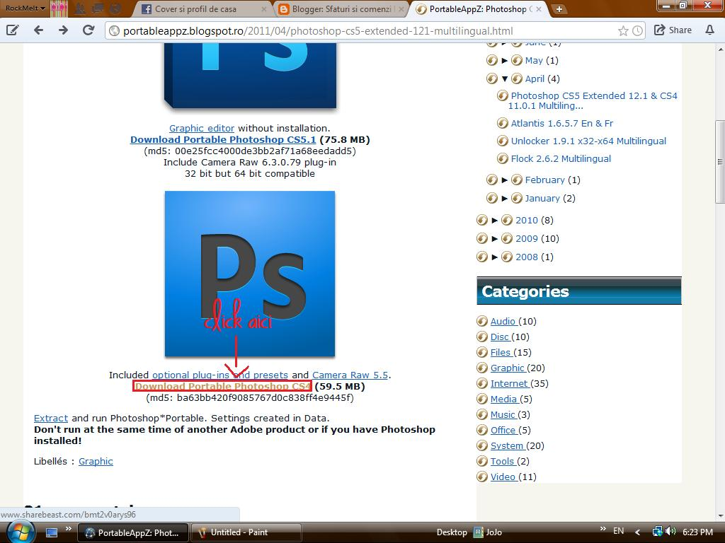 Portableappz photoshop
