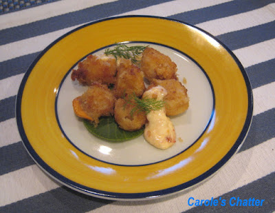 Carole's Chatter: Crumbed Scallops with Sweet Chilli Mayo – I need to give these another go!
