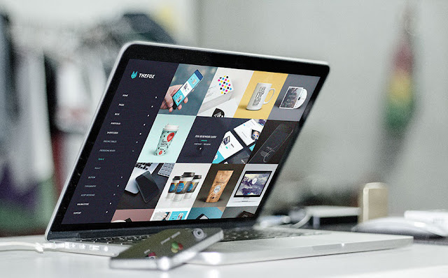 Macbook Pro Retina PSD Mockups